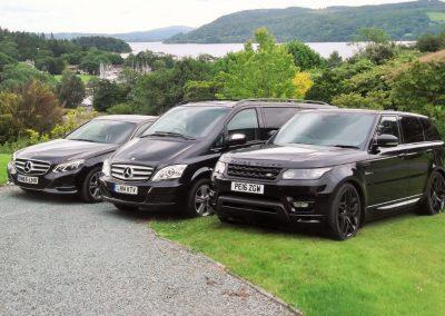 Lakeland Chauffers Luxury Vehicles