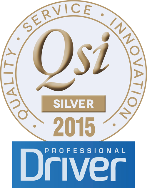 QSI Professional Driver Gold Winner 2015