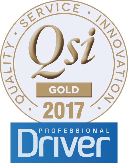 QSI Professional Driver Gold Winner 2017
